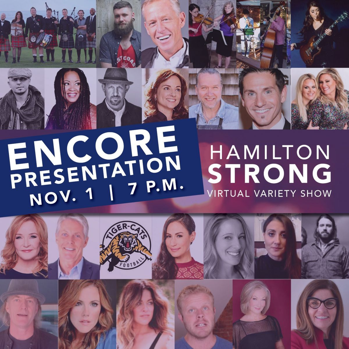 Encore Presentation of the Hamilton Strong Virtual Variety Show